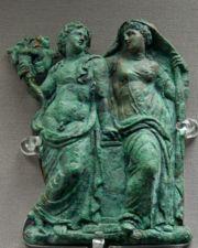 Ariadne as the consort of Dionysos