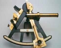 Ebony sextant